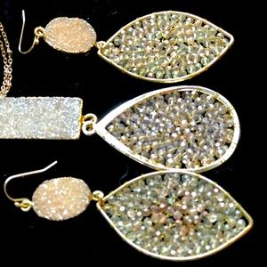 Pendant and matching earrings from Neiman Marcus